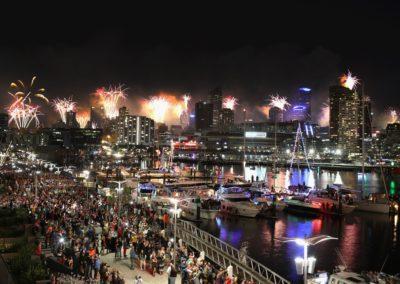 NYE Docklands Fireworks